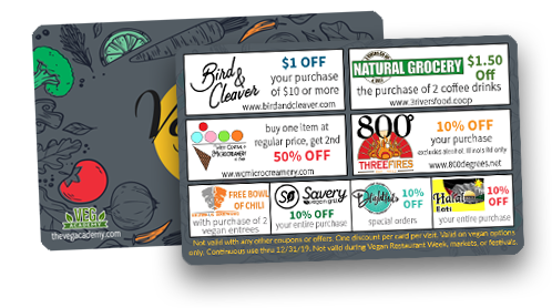 vegan restaurant discounts fort wayne